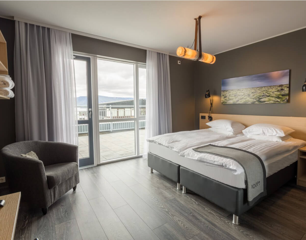 Alda hotel located in the center of reykjavik for Design hotel reykjavik